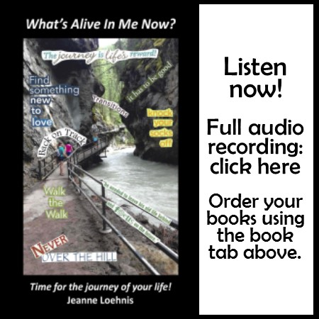 What's Alive In Me Now? audio recording